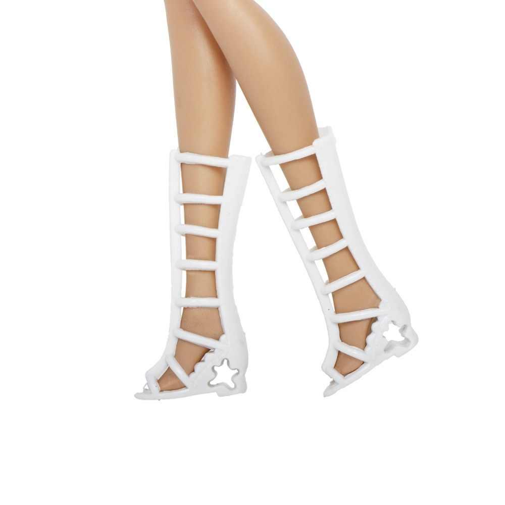 12 Đôi Giày Búp Bê Phối Phong Cách Cao Gót Giày Nhiều Màu Sắc Các Loại Giày Phụ Kiện Đi Kèm Búp Bê Bé Xmas DIY đồ Chơi