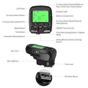 Image 5 - مشغل لاسلكي TRIOPO G1 مزدوج TTL مع شاشة LCD عريضة 1/8000s HSS 2.4G ناقل لاسلكي 16 قناة