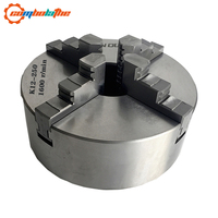 4 jaw lathe chuck 250mm 10'' inch K12 250 with hardened steel for heavy duty lathe
