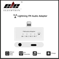 For Mini Lightning FM Audio Adapter 8Pin for iPhone 5 5s 6 6s 7 plus for iPad for iPod touch