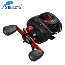 Smart Fishing Reels Bait Casting 5+1 BB 6.2:1 Right Left Hand Baitcasting Fishing Reel Saltwater Carretel De Pesca Fishing Coil saltwater high speed 18bb magnetic brake bait casting reel bass saltwater fishing reels