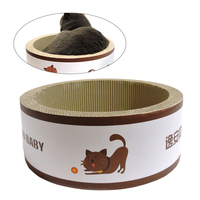 Practical Eco friendly Corrugated Paper Cat Claw Plate Creative Room saving Scratcher Cardboard Cat Catch Plate Cat Toy