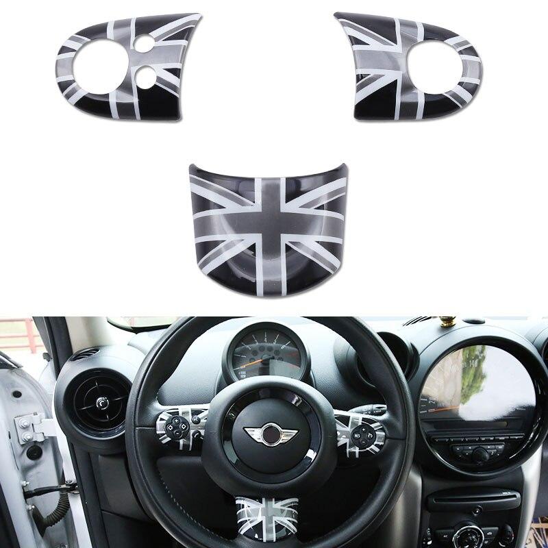 Car Steering Wheel Cover Sticker For Mini Cooper R55 R56 R57 R58 R59 R60 Clubman
