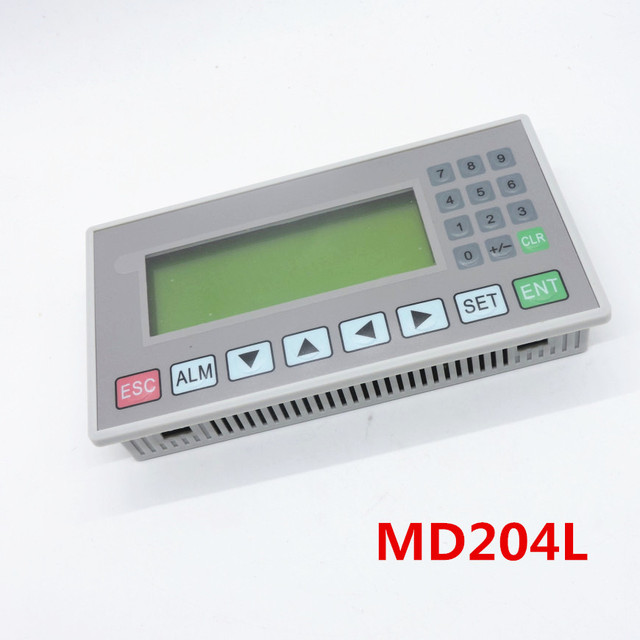MD204L text display support 232, 422, 485 communications