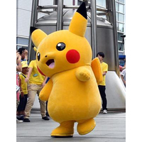 Pikachu Mascotte Kostuum carnaval anime film karakter Klassieke cartoon Volwassen Karakter Jurk Cartoon Pak