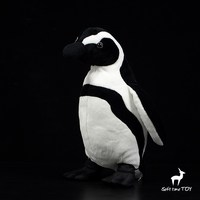 Soft Toys For Children Spotted Ring African Penguin Figure Real Life Plush Animal Toy stores