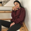 Wixra Basic Sweatshirts 2018 Spring New Candy Color Women Fashion Sweatshirt O Neck Long Sleeve Loose Pullover Tops For Woman