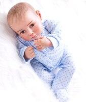 20 дюймов новорожденных reborn baby Doll мягкий силиконовый ручная роспись волосы lol оригинальный Симпатичные малышей Дети подарок игровой дом кук...