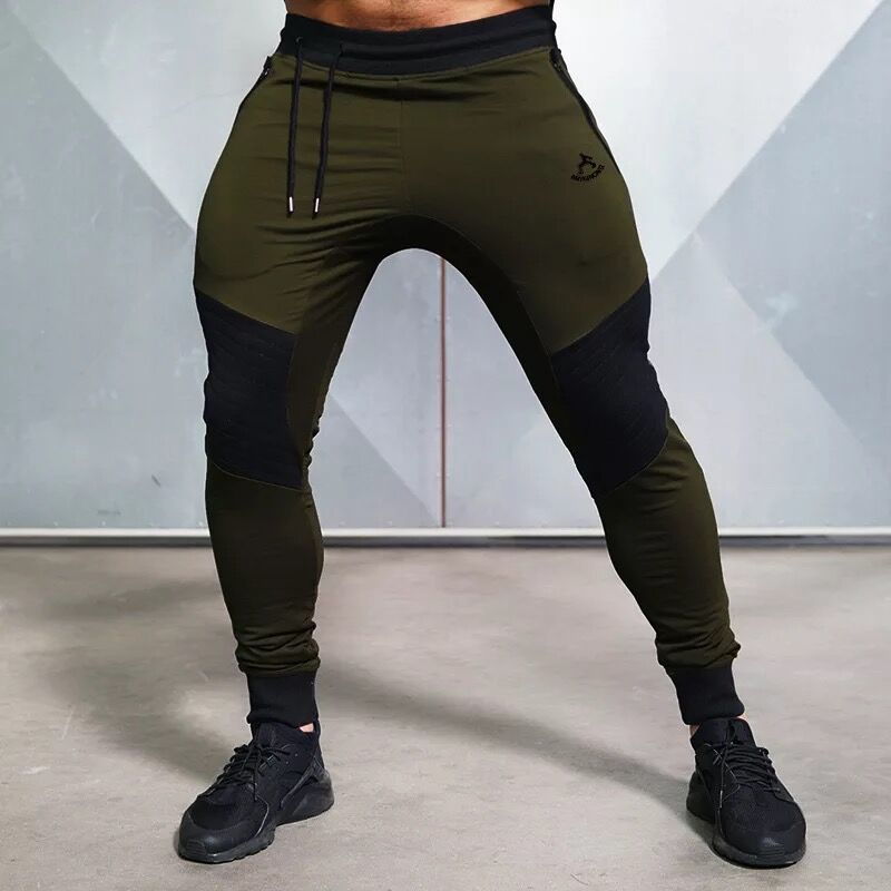 Training Running Pants Sport Gym Leggings Men (8)