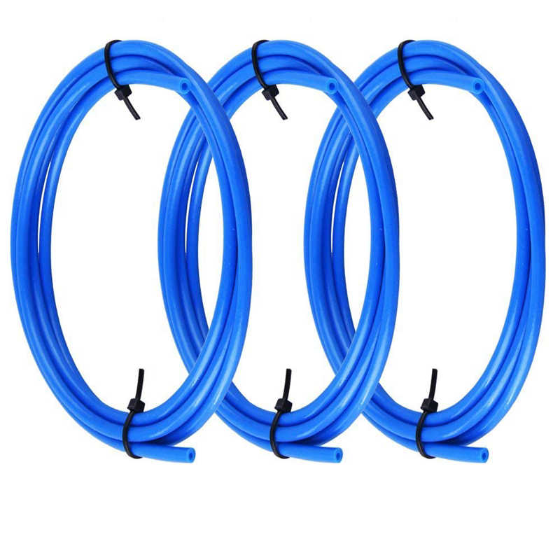 1 м тефлоновая трубка тефлоновая труба 3D принтеры части j-головка Hotend Боуден экструдер V5 V6 1,75 мм 3 мм нить ID 2 мм 3 мм 4 мм синий белый