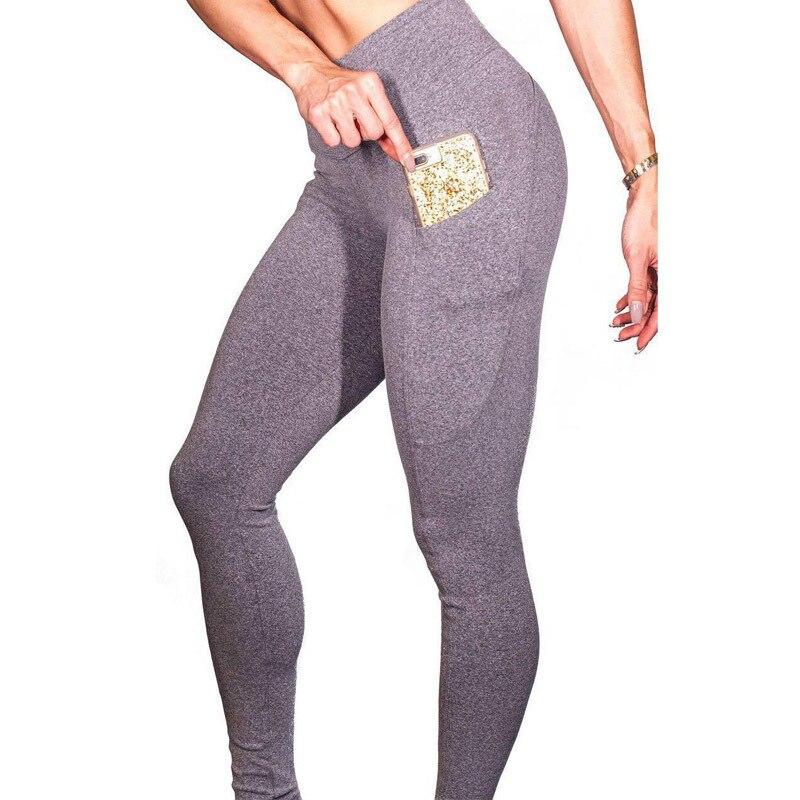 MIND FEET Women Fitness Leggings Skinny Stretch Trousers