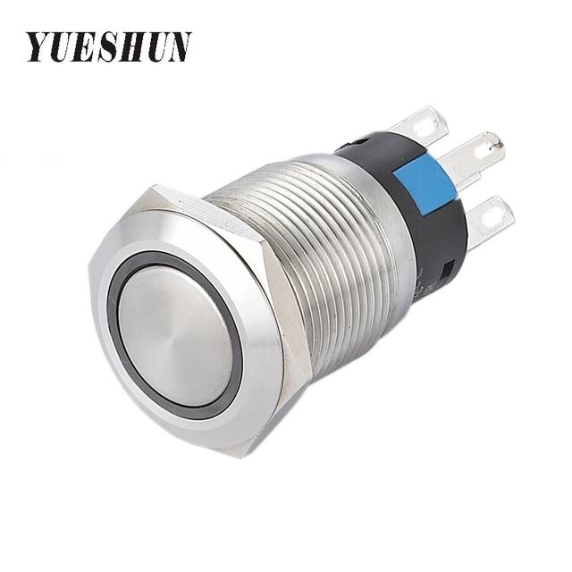 YUESHUN 19mm Push Button Switches Smart Home Electrical Equipment ...