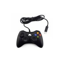 Mando con cable USB para Xbox 360, mando para Microsoft PC, controlador oficial para Win98/Me/2000/Xp/Win7