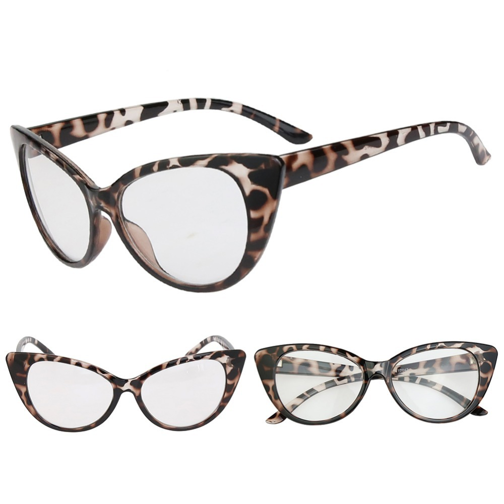 2a7a2d658634 Outeye Brand 5Color Retro Sexy Women Eyeglasses Frame Clear Lens lady Eye  Leopard Vintage Glasses Drop Shipping Wholesale-in Sunglasses from Apparel  ...