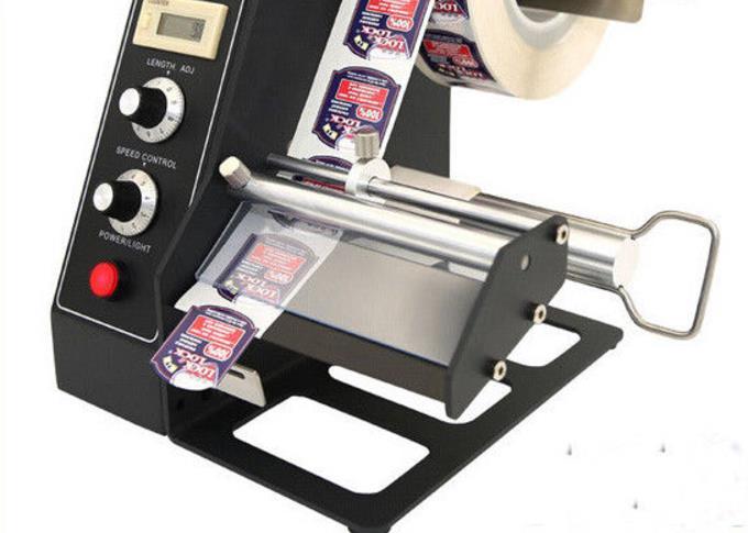 AL-1150D Device Sticker Labelling Machine Automatic Label Dispenser x 100 automatic labeler dispenser label stripping machines labeler dispenser 250mm max dia