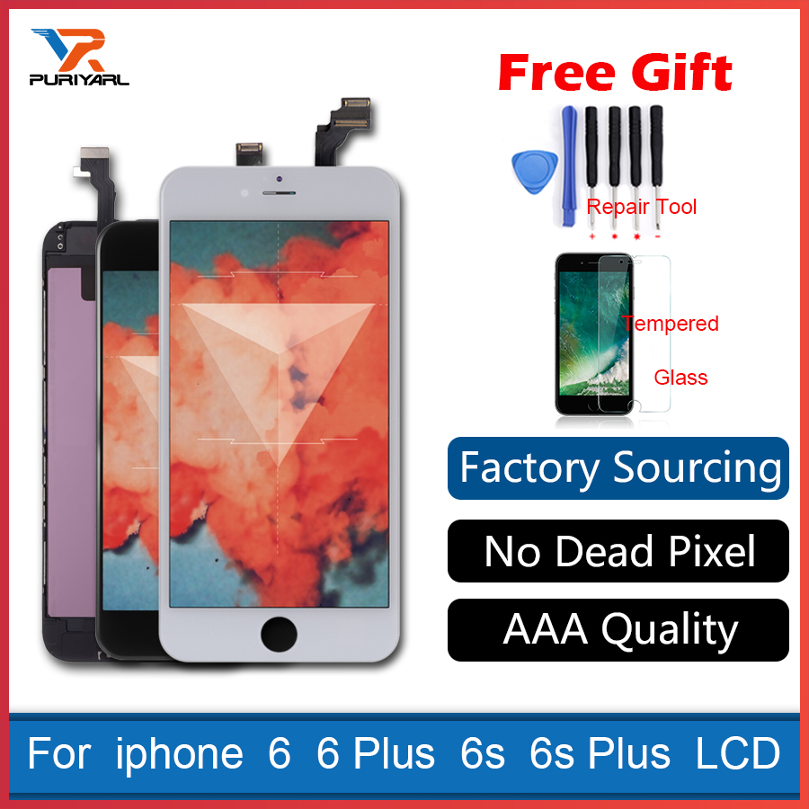AAA Retina LCD Display Complete Screen For iPhone 6 6 Plus 6s 6s Plus 3D Touch Screen Digitizer Pantalla Ecran Replacement