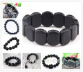 100% Real Black Bianshi Healthy Natural Bian Stone Buddha Bracelet For Men Women Black Jade Bracelet bianshi bracelet Jewelry