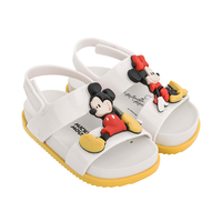 Mini Melissa Jelly shoes 2019 New Mickey and Minnie Girl Sandals Kids Shoes Candy Flavor Melissa Beach Sandals For Girls