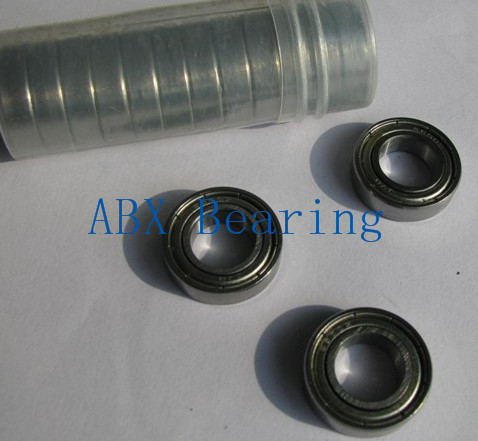 <font><b>MR126ZZ</b></font> hybrid ceramic deep groove ball bearing 6x12x4mm image