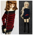 1/3 1/4 scale BJD accessories Strapless dress doll clothes for BJD/SD.Not included doll,shoes,wig and other accessories 16C0784