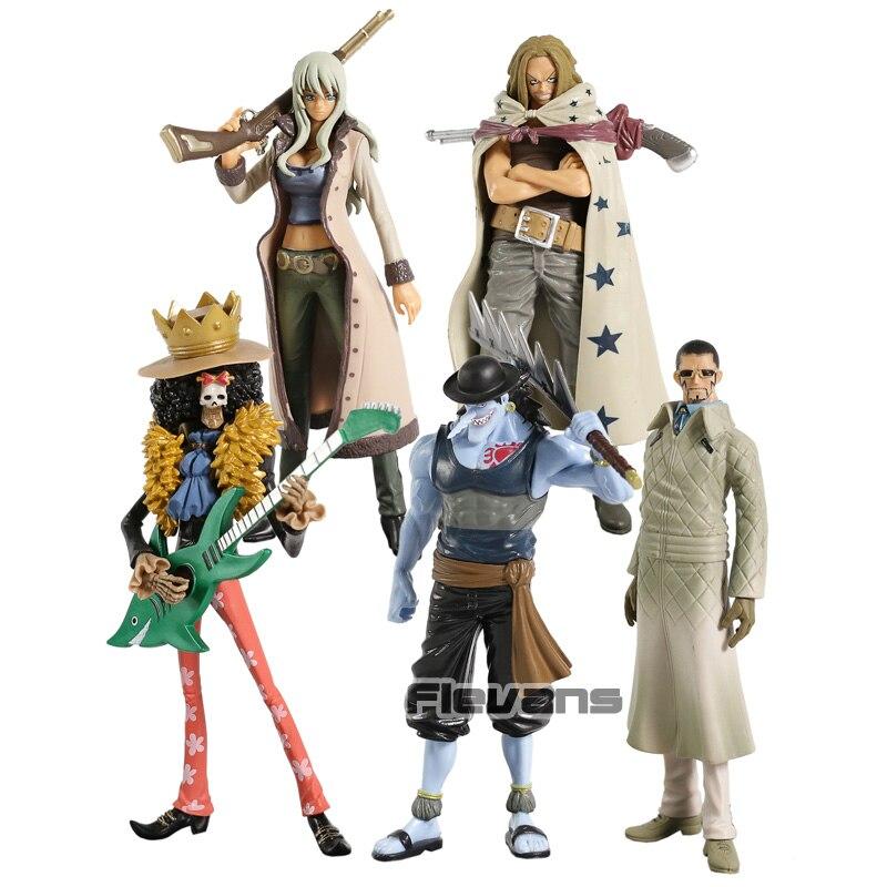 One Piece O Grandline Senhora Homem Ribeiro Nico Olvia Arlong Vergo Yasopp PVC Figura Collectible Toy Modelo