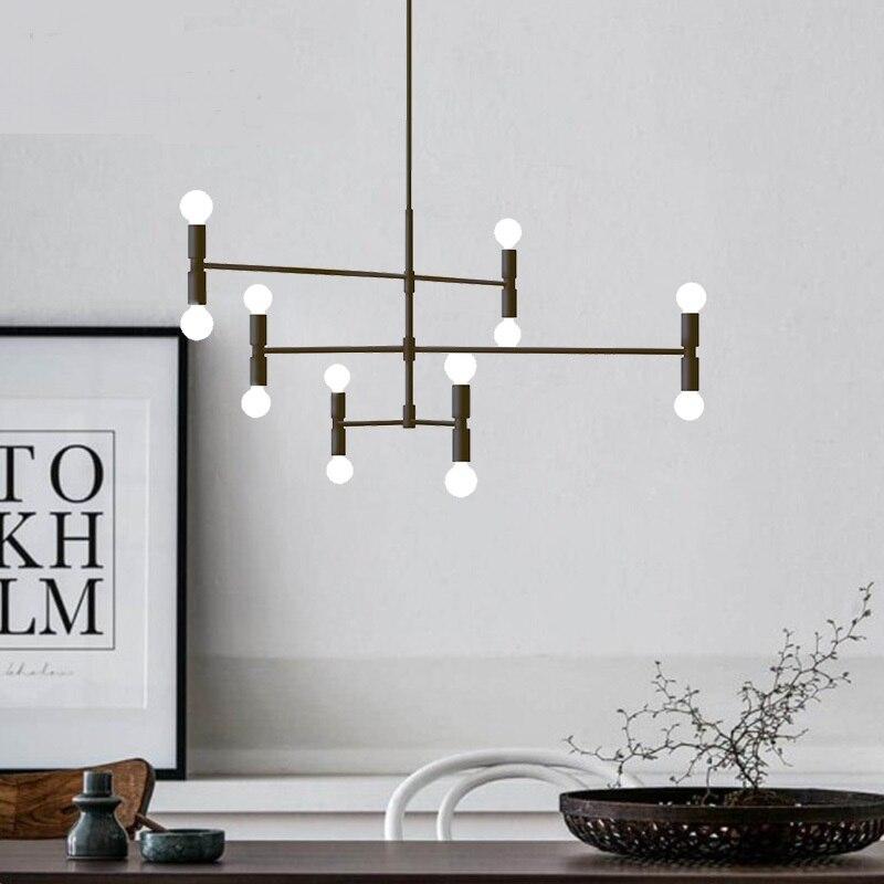 Nordic postmodern creative personality art pendant lamp room bedroom Cafe model room fashion LED pendant light ZH