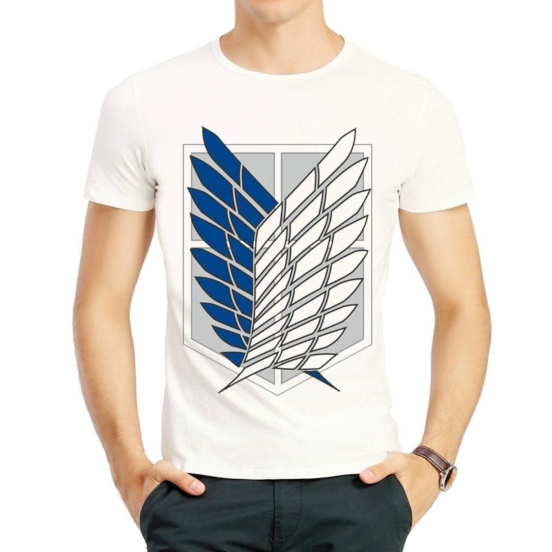 Attack on Titan T Shirt Fashion Anime Short Sleeve Anime ...