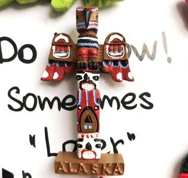 Alaska special tourist souvenir refrigerator