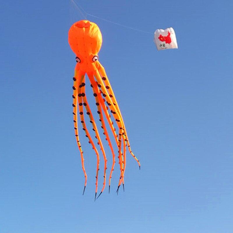 Livraison gratuite grand pieuvre cerf-volant pendentif ripstop nylon tissu alien cerf-volant gonflable pour adultes 3d cerf-volant buggy kitesurf conseil cerf-volant - 2