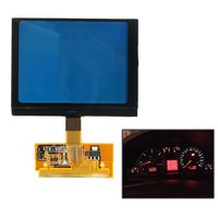 Car Replacement VDO LCD Cluster Speedometer Display Screen For Audi A3 A4 A6