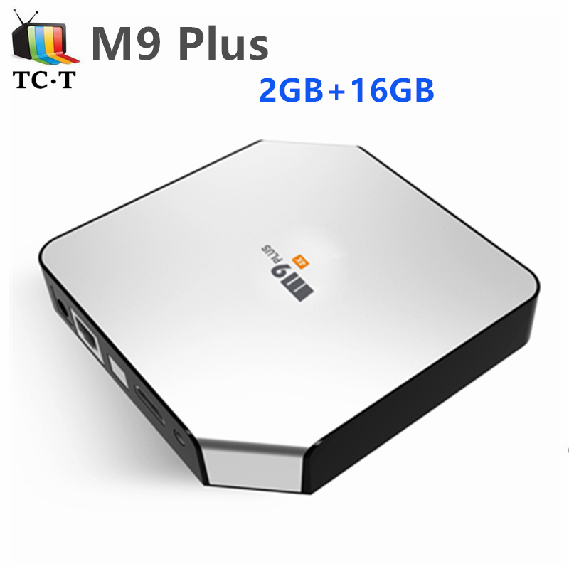 ФОТО 10pcs Original R-TV BOX M9 Plus TV BOX 2GB/16GB Amlogic S905 64bits 4K TV BOX Android 5.1 2.4G/5.8G WIFI Bluetooth4.0 TrueHD DTS