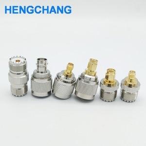 Image 4 - SL16 M type UHF to SMA PL259 to BNC SO239 to SMA RF connectors adapter 6pcs/lot