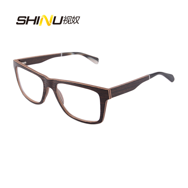 New style black walnut laminated wood eyeglasses high quality 11 ...