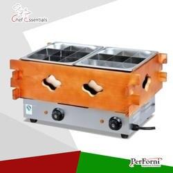 PKJG-EH20 Электрический приготовление Канто коммерческих деревянный Tangchi машина закуски