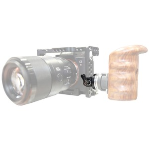 "Image 5 - NICEYRIG נאט""ו רכבת מהדק שושנת Arri מתאם נאט""ו מהיר שחרור קלאמפ עבור מצלמה DSLR כתף Rig למצלמה עץ ידית"