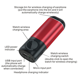 Image 5 - Wireless Charger Power Bank 5200mAh Portable Mobile Phone Charger  Power Bank for iPhone AirPods Apple Watch Series 4/3/2/1