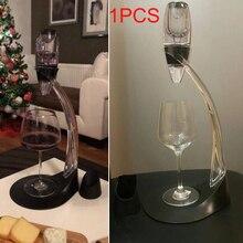 Волшебный винный декантер Carafe набор нагрудный мешок мини эфирный красный графин винного быстрого аэратора с подставка для фильтра держатель обеденного бара