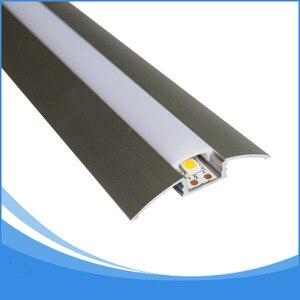 Image 5 - 10 pcs 1 m comprimento Perfil LED para 12mm de largura tira conduzida luz frete grátis DHL levou tira de alumínio habitação canal Item no. LA LP21