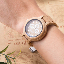 GNART wood watch men minimalist quartz wooden watches male watch brand mens natural relogio luxury 2018