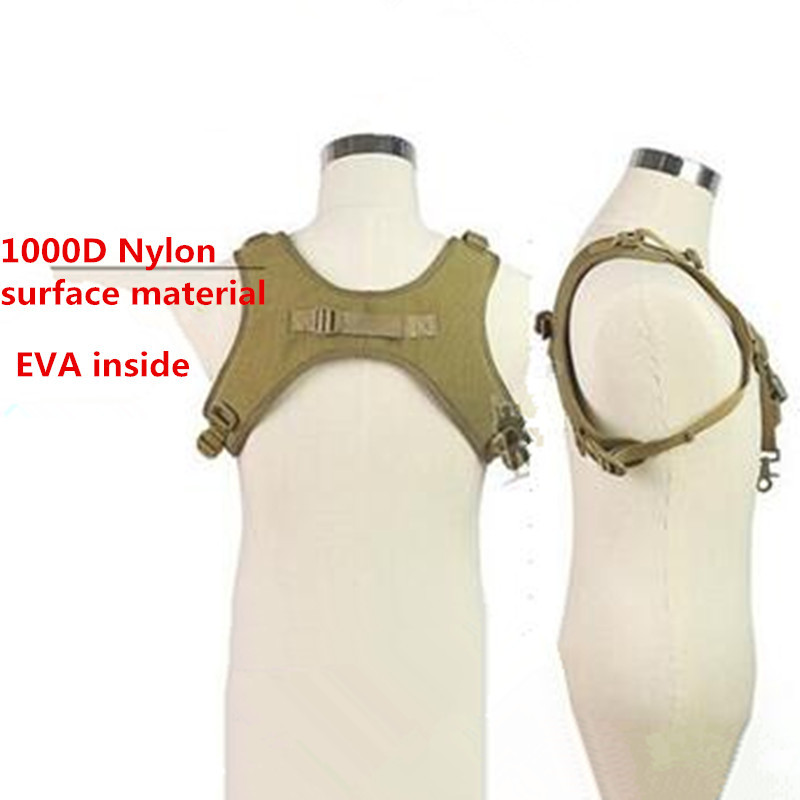 1000D Nylon Military Tactical H-Shape Decompression Shoulder Sling Rifle Gun Carry Belt Airsoftsports Paintball Hunting Gear