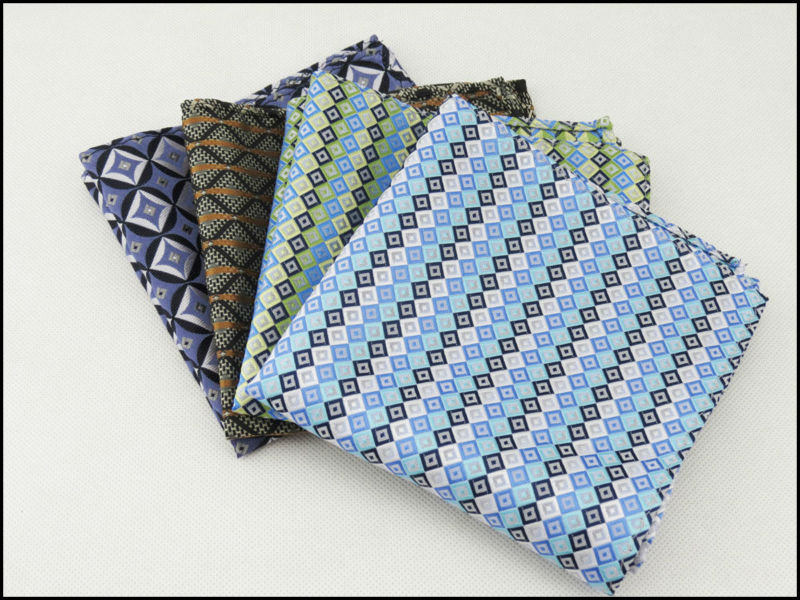 Pocket Square/polyester/Man Must Handkerchief /4 Squares Can Choose Men's Accessories Small
