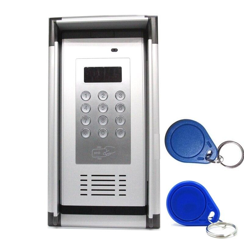 3g GSM Contrôle D'accès Appartement Interphone par Livraison Appel Téléphonique avec RFID Carte et Étanche à la Pluie Capot Maison usine sécurisé système K6