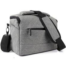 Сумка для DSLR камеры, рюкзак, сумка через плечо из полиэстера, водонепроницаемый чехол для фотосъемки Canon, Nikon, sony, чехол для объектива