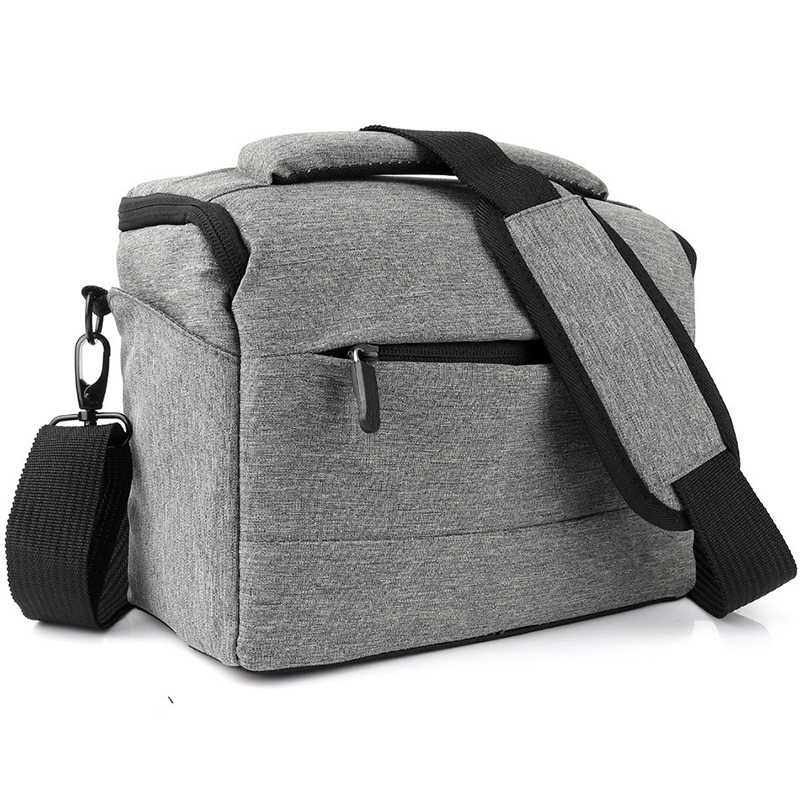 DSLR Saco Da Câmera Mochila Lowepro Poliéster Shoulder Bag Insert Fotografia Foto Caso À Prova D' Água Para Canon Nikon Sony Lens Pouch