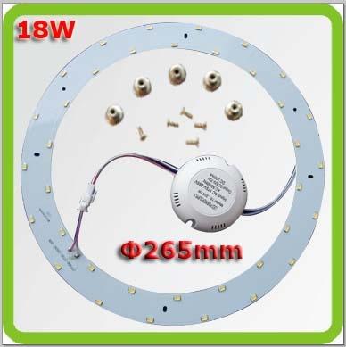 Vak na poštu 4 * dia265mm 18W 1800lm kulaté led LED stropní - Vnitřní osvětlení