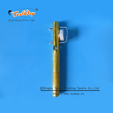 Free shipping High quality Aluminum alloy fishing line knotter Fishhooks Tie Device sub-line tier small hooks fishing tool