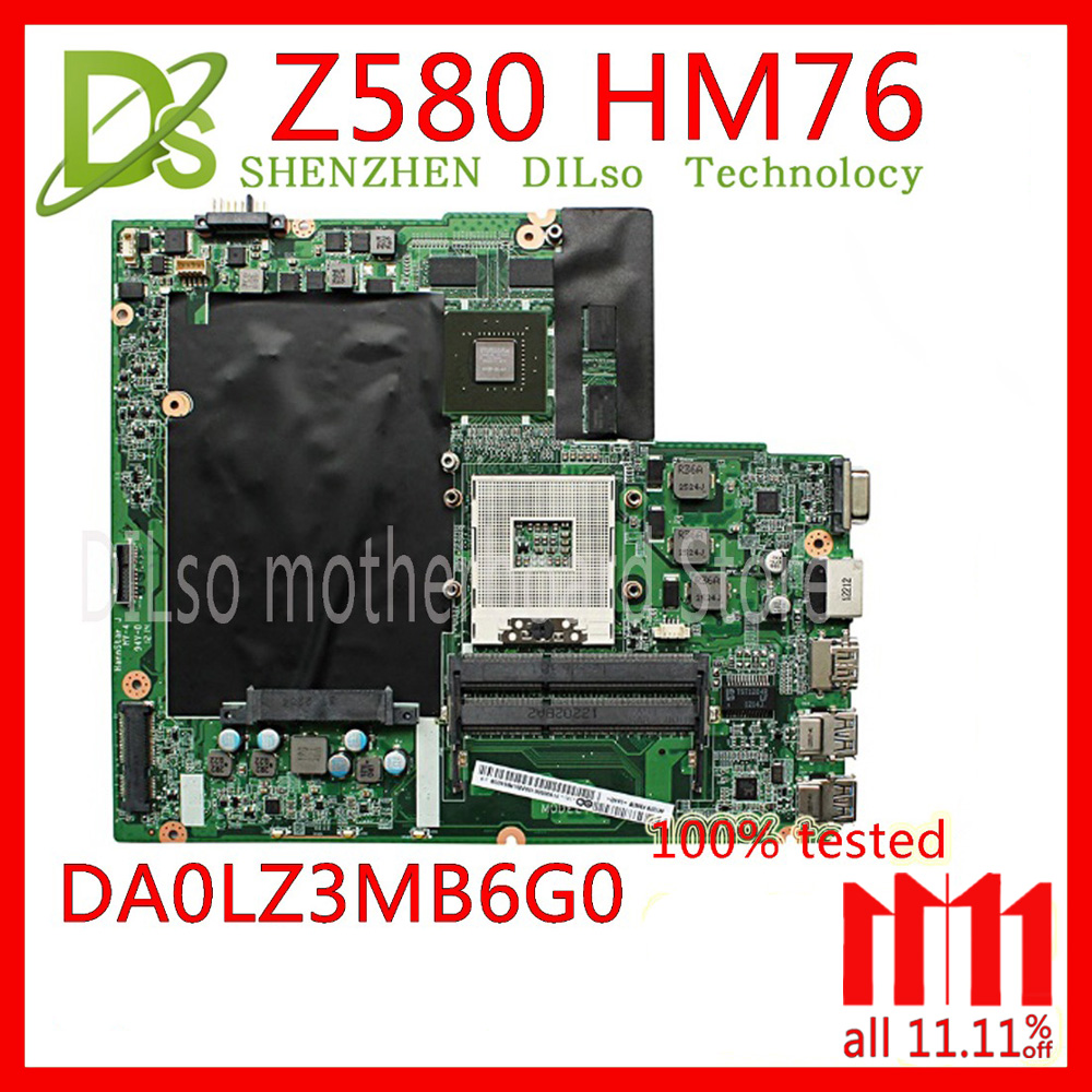 KEFU Z580 mainboard For Lenovo Z580 HM76 USB3.0 DALZ3AMB8E0 GT630M 2G laptop motherboard USB3.0 Test work 100% original suitable for lenovo z580 motherboard da0lz3mb6g0 gt630m hm76 system mainboard original new