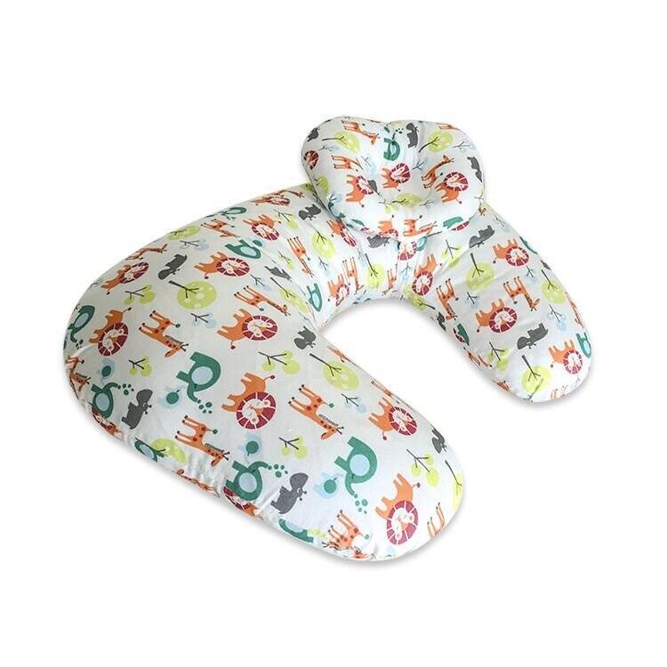 Подушка для кормления грудью многофункциональная детская подушка для кормления материнская поясная подушка u-образная Подушка для кормления ребенка - Цвет: dongwuyuan