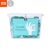 60pcs Xiaomi Mijia Xiaoxian Fragrance Cleansing Laundry Ball Laundry Liquid Washing Soap Softener Washing Clothes Skin Care