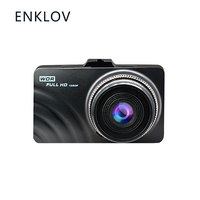 ENKLOV Car Dash Camera Driving Video Recorder With 1080P Wide Angle